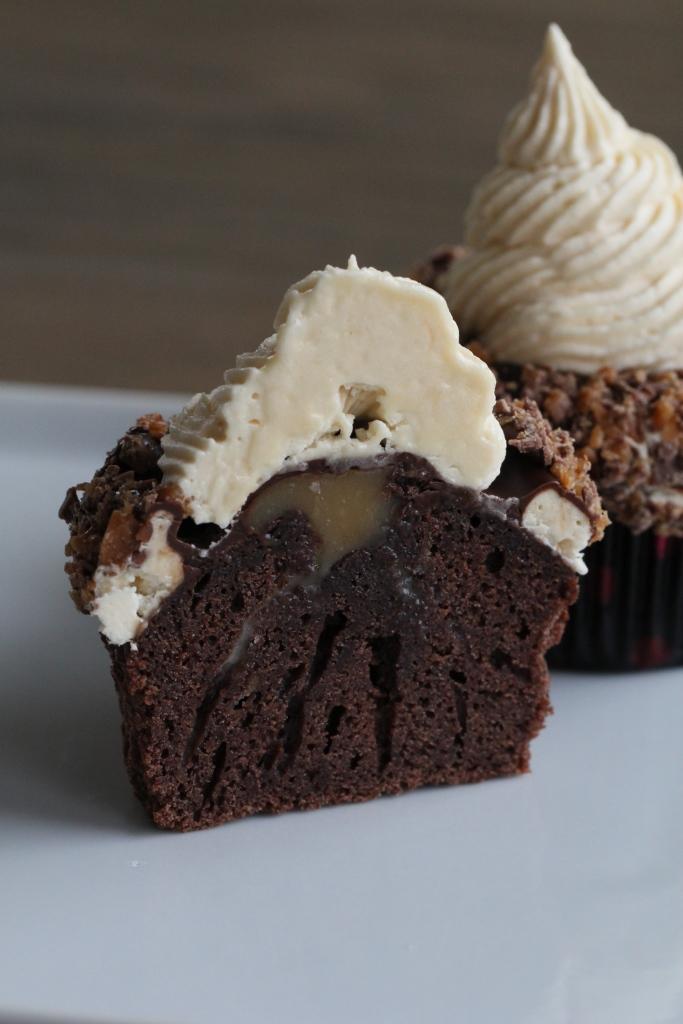 karamellcupcakes_sjokolade