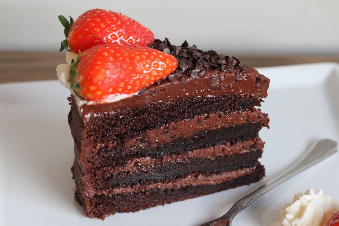 sjokoladekake i langpanne saftig