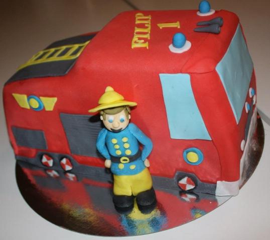 Brannmann Sam kake