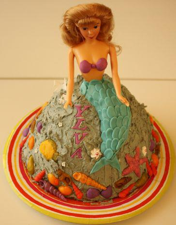 Kake med havfrue