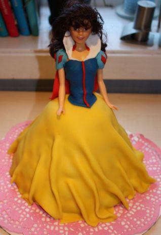 Snøhvit prinsessekake prinsesse kake