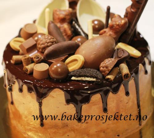 Sjokoladekake_rennende_glasur