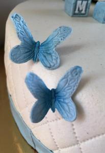 Dåpskake sommerfugler