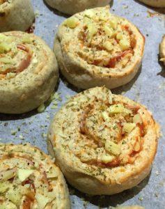 Oppskrift pizzasnurrer