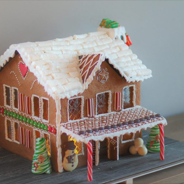 This years Gingerbreadhouse  I r har jeg laget mitthellip