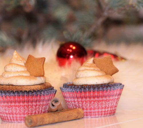 Saftige muffins med krydder til jul