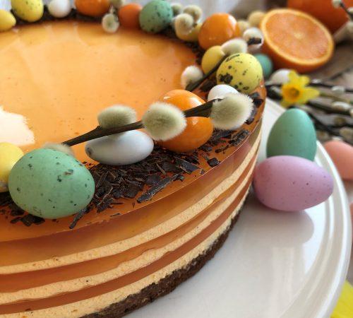 Ostekake påske appelsin