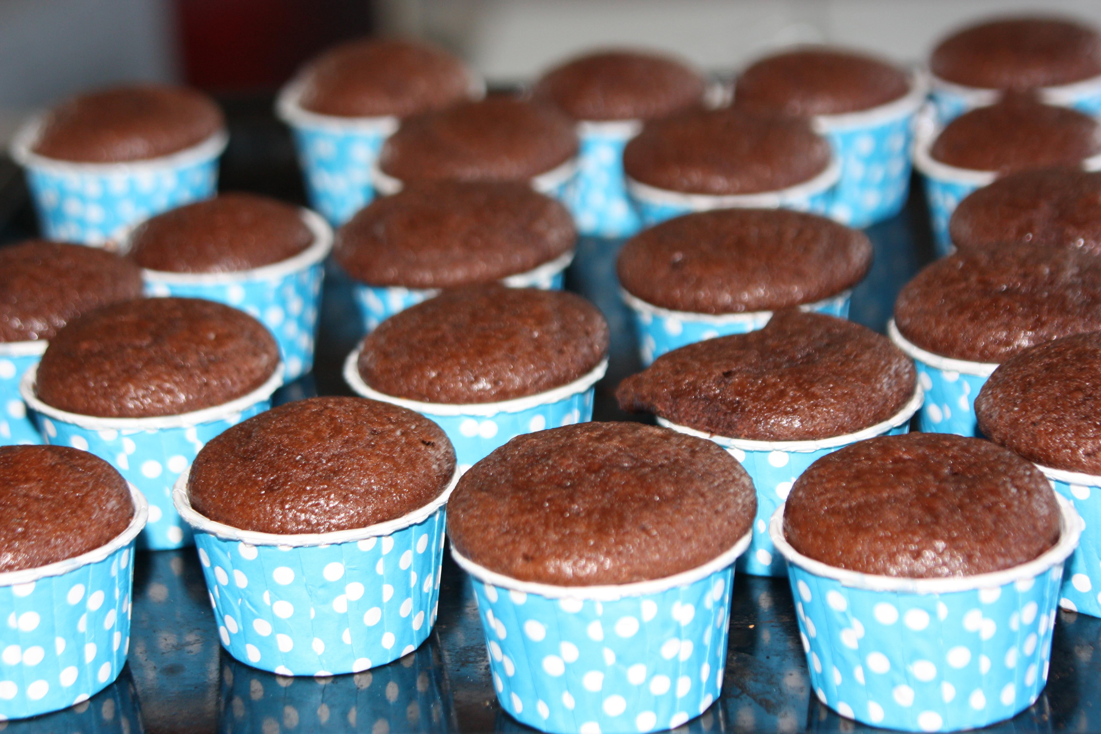Saftige Sjokolademuffins Med Kefir
